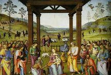 christmas Cards with the holy family / Kerstkaarten die een verhaal meegeven
