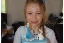 ❄ Frozen birthday cake ❄ Daphné is 6