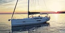 Dufour / Dufour Yachts was founded in La Rochelle France in 1964 by designer an engineer with a love of sailing, Michel Dufourt. They yachts are 100% made in frabce, buidling nearly 400 sailing yachts a year.