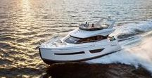 Carver Yachts / Carver Boat Corp. started in 1954 building small moulded veneer wooden runabouts in Wisconsin in the United States. Today, Carver Yachts continues to lead the industry in creating spacious, highly functional, and dependable world-class cruising luxury motoryacht, from 34' to 50'.