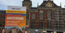 Amsterdam Giveaway / Marco Polo were out and about in Amsterdam recently wearing eye catching yellow t-shirts and giving away free Amsterdam Pocket Guides to everyone visiting this fabulous city! Did you run into any of our girls?