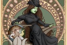 Elphaba Dreams / Wicked Witch of the West / by Cyndi Cottrell
