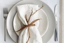 ·Beautiful Table Settings· / A beautifully decorated table is so inviting...