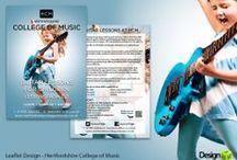 Leaflet and Postcard Design