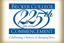"225th Commencement Anniversary / This fall, Becker College President Robert E. Johnson, Ph.D., announced the launch of the College's 225th Commencement Anniversary. Our anniversary theme, ""Celebrating a History of Changing Lives,"" focuses on all that has made Becker College great—its people, its programs, and its growth, as well as the impact its graduates have had upon the world."