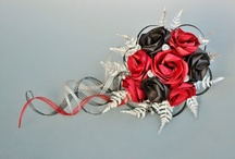 Wedding bouquets / Flax flower creations by Flaxation. These are delivered world wide and if cared for can last a lifetime. www.flaxation.co.nz