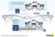 Social Media Designs / Designs for use throughout social media.