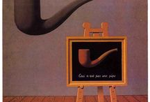 Magritte Surrealist / Rene Magritte Catalogue / by Cyndi Cottrell