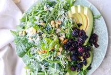 ·Salads· / Salads are my favorite way to keep meals light and healthy. These great recipes are loaded with fresh, seasonal ingredients!