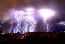 Zeus! Thor! & Lightning!  Oh my! / Lightning Photos / by Cyndi Cottrell