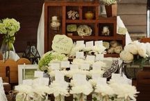 Rustic Wedding Ideas / We see so many great ideas at the estate, we want to share them with you. **note: all uploaded pins by the Roth Estate are property of the Estate and have been taken by Jan Roth