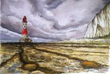 Paintings and Artwork / A selection of paintings, sketches and artwork created by Mark Huntley www.markhuntley.co.uk