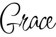 Grace <3 / by Debbie Benoit