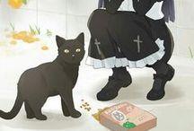 Cats. ♡