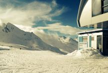 Winter, sun & snow / I love the winter in Hochgurgl. There're  blue sky, endless snow and great mountains.