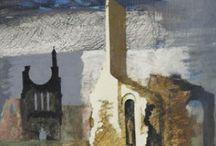 EnglandScotlandIrelandWales / Great Britain, in paint, through the ages