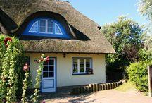 Skipperhus Ahrenshoop - Holiday Dreams / Zauberhaftes Ferienhaus in  der Künstlerkolonie Ahrenshoop.  Buchung: www.meerfischland.de
