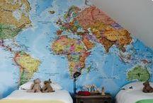 Maps & decor