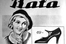 Baťa a reklama / Bata and advertising / #Bata #batashoes #reklama #advertising #art #zlin
