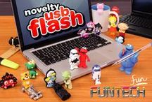 Funtech Novelty USB Flash / Proudly Developed by SourceHUB