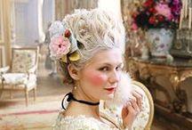 Sweet as Marie Antoinette <3 / Marie Antoinetta, dress, love, sun, versailles, white, pink, sweet, hair, ribbon
