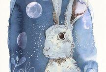 Eggs & Bunnies    Happy easter!