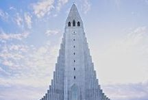 Iceland, my elven homeland / Iceland, landscape, mountains, water, sky, ice, sun, grass