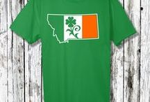 Montana St. Patrick's Day / T-shirts and graphics designed specifically for Montana's many Saint Patrick's Day parades and celebrations.