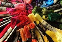 Craft Stash   Stitching Stash / Fabric, threads, embellishments, tools and storage ideas for needlecraft.