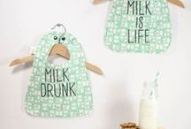 Milk & Bones / Your 'go to' place to get adorable and fun baby bibs, bandana drool bibs, hats, shoes, and headbands. Great gifts for baby showers!