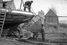Scheepswerf Meerman / traditional shipbuilding / De scheepswerf van Meerman is de oudste nog bestaande Zeeuwse scheepswerf. De oudste vermelding van de werf dateert van 1763.