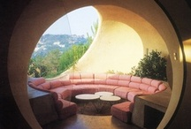 MCM Architecture / Groovy modernist and MCM architecture