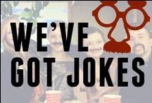 We've Got Jokes / Pizza humor...Godfather's Pizza style.  / by Godfather's Pizza