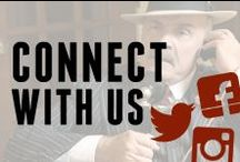 Connect with Us! / All of our social media pages... Click on the picture to check them out!  / by Godfather's Pizza