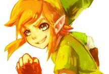 The Legend Of Zelda / My fav video game series! / by CJ and Colette