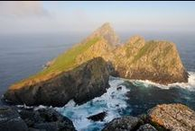 St Kilda / With its dramatic landscape of sheer cliffs and sea stacks, St Kilda feels like a place perched on the edge of the world.