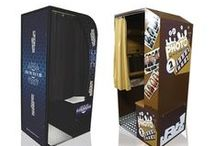 Photo Booths and More! / Check out all these different styles of photo booths and photo novelty rentals.