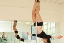 PDY - Crucifix, inv / Pole dance move: INVERTED CRUCIFIX aka CRUCIFIX INVERT aka BASIC INVERT NO HANDS aka BAT