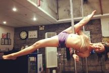PDY - Doris split / Pole dance move: DORIS SPLIT aka TWISTED JADE aka INVERTED ELBOW SPLIT