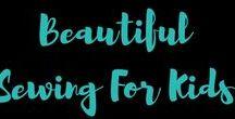 Beautiful sewing for kids / Sewing for Kids, Nähen für Kinder,  Kindermode, Inspirationen für Kinder Kleidung