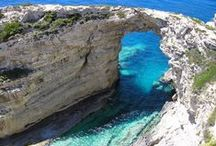 Paxi - Παξοί / Paxi or Paxoi (Greek: Παξοί) is the smallest group of Ionian Islands. In Greek it is a plural form. The largest islands are Paxos and nearby Antipaxos.  Website - http://www.paxi.gr