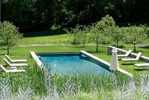 Chalet - pool / by Hat