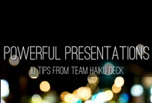 Cool Presentations / Presentation slides that will knock you off your seat.