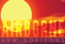 """Airborne - New Horizons - Jazz CD - Music & Video / """"New Horizons"""" is the 7th CD from Airborne in 2010, the multi-cultural contemporary jazz group from New Haven CT USA. The warm, yet cool atmosphere of this wonderful project takes you on a magical and musical journey to a new day filled with joy and hope. Groove music with depth and character that is captivating and entrancing. Joyful Jazz with an Inspirational Message of Hope!  www.airbornejazz.com"""