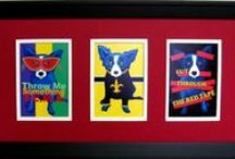 Blue Dog-George Rodrigue / by Carol Frey