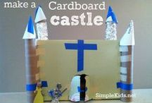 Blue Knights Crafts / Craft ideas for little knights of the Kingdom