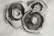 Pen and ink studies / Pen and ink studies