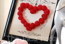 TVOŘENÍ NA VALENTÝN / Inspirace pro vaše valentýnské tvoření a nápady. Více nápadů pro tvoření na Valentýna najdete na www.LetsCreate.eu