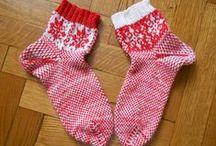 Носки на спицах / носки, связанные спицами | knitted socks