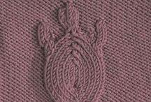 Узоры / Узоры для вязания спицами